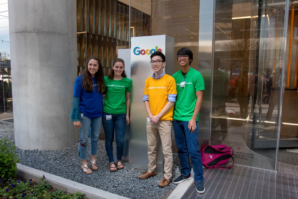 Top #KleinWaterWarriors Team Visits Google HQ 2.0 in Austin