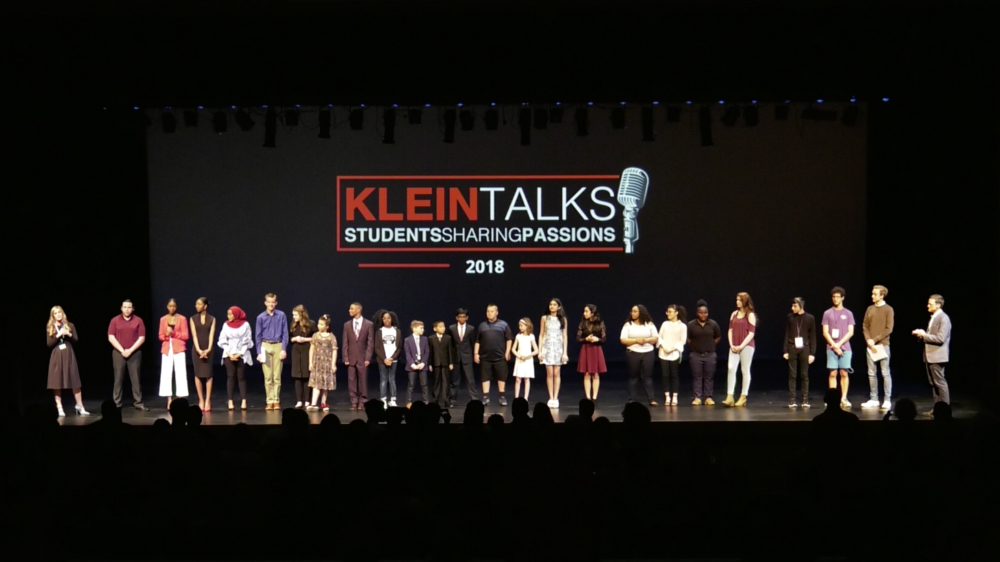 Klein ISD holds inaugural #KleinTalks event to showcase student voice