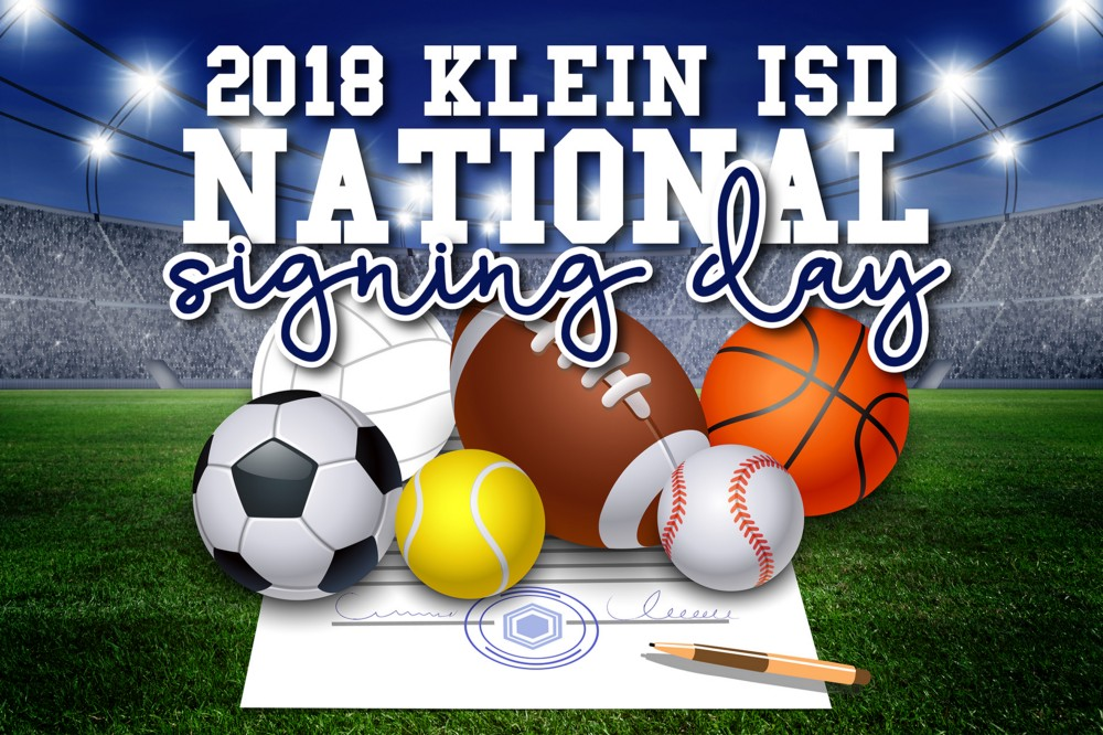 National Signing Day Takes Over Klein ISD