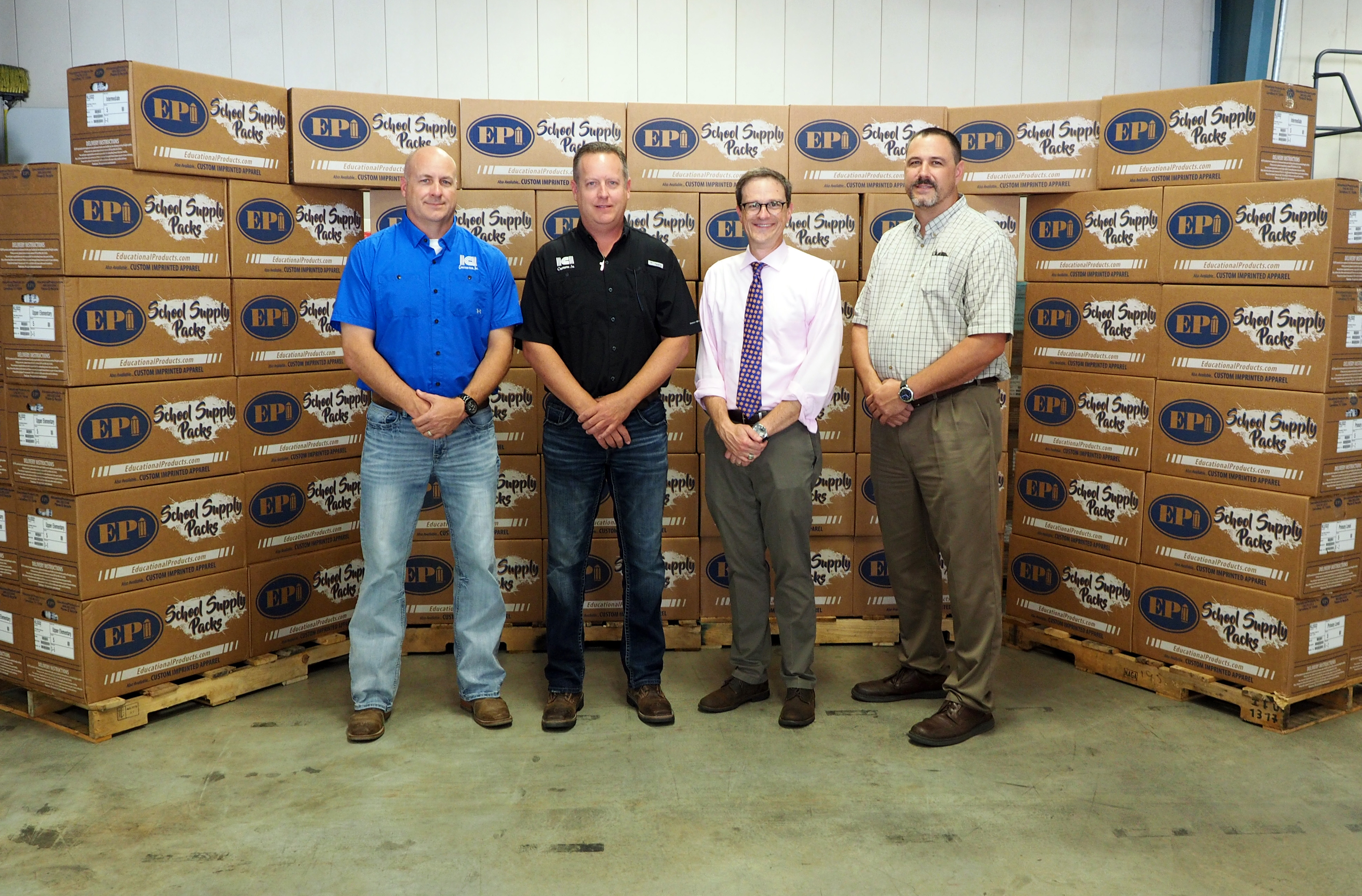 ICI Construction Donates for Ninth Consecutive Year