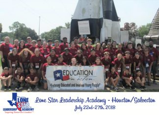 Students Participate in Lone Star Leadership Academy