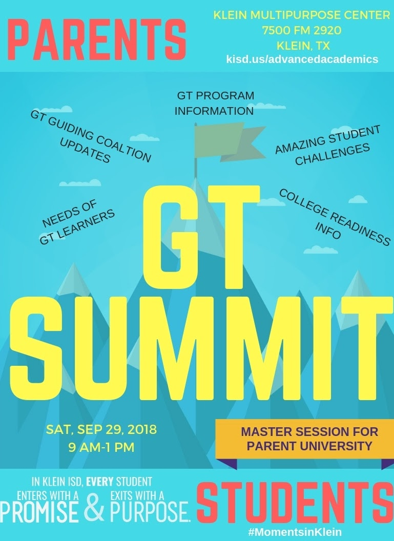 District Set to Host GT Summit for Pathway Explorers