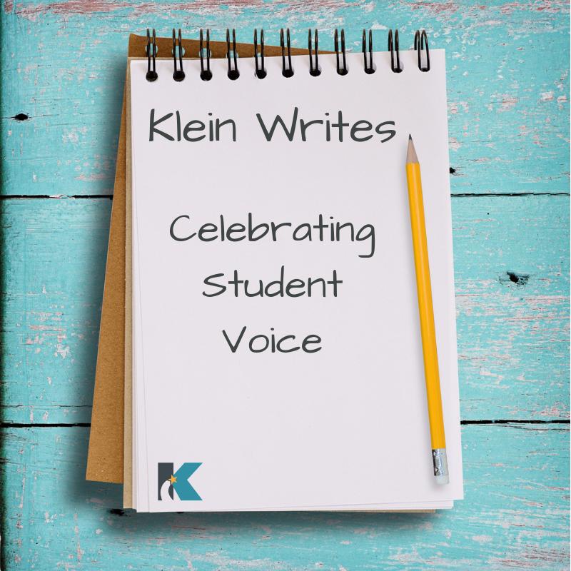 Klein Writes: Celebrating Student Voices – Day 2
