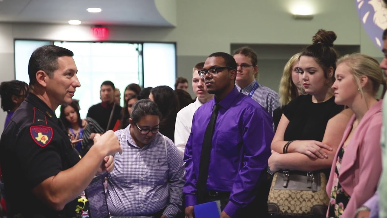 CTE Students Explore their Purpose at Faces of Harris County Event