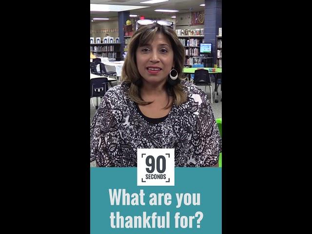 ¡Feliz día de acción de gracias! - 90 segundos