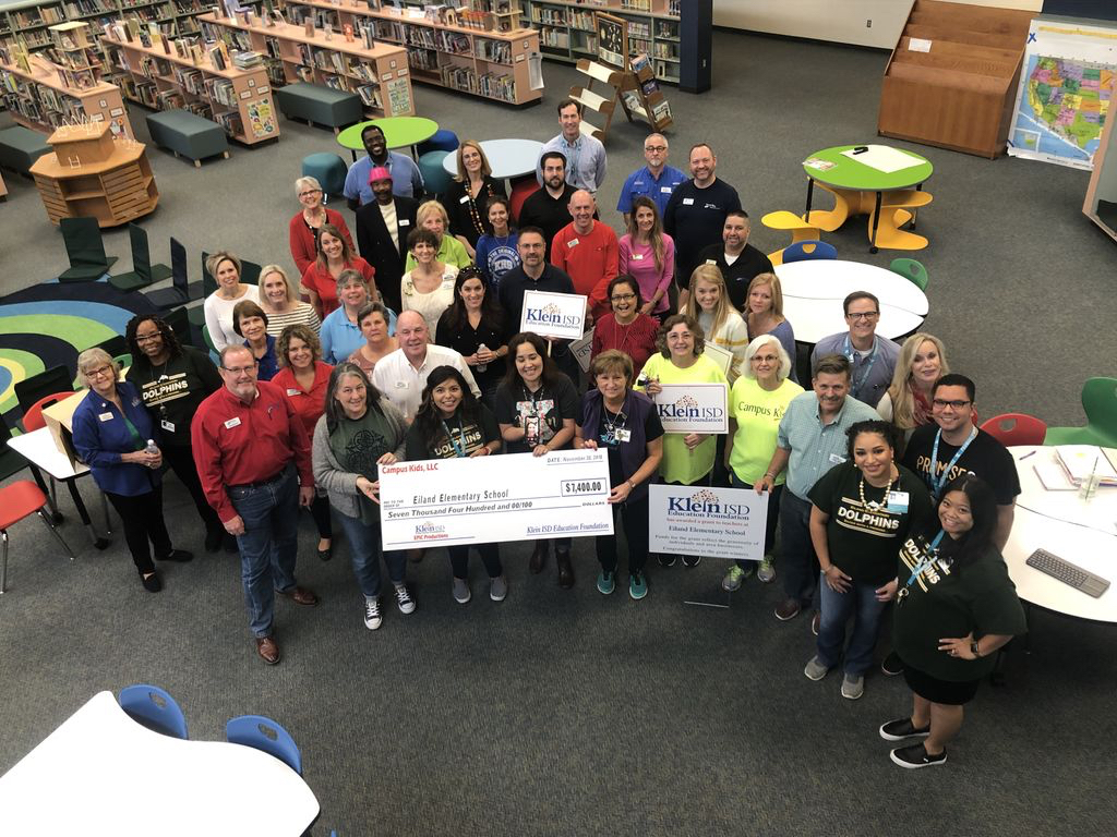 Klein ISD Education Foundation awards $58,000 in grants to schools