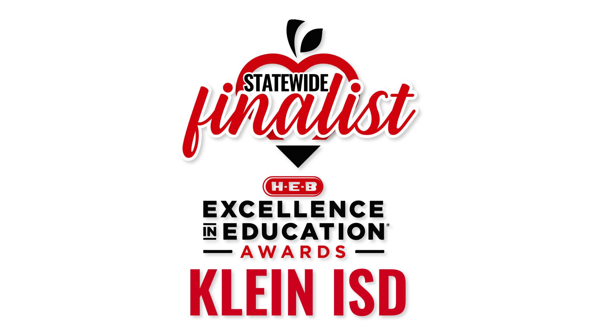Klein ISD nombrado finalista estatal en los Premios HEB a la Excelencia en Educación 2019