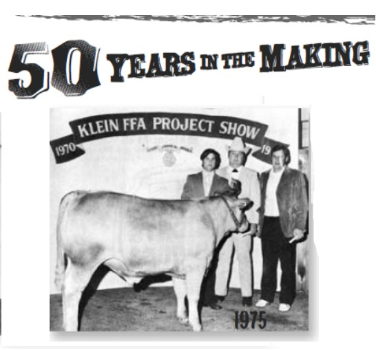 Traditions – 50th Anniversary of the Klein ISD FFA Livestock and Project Show