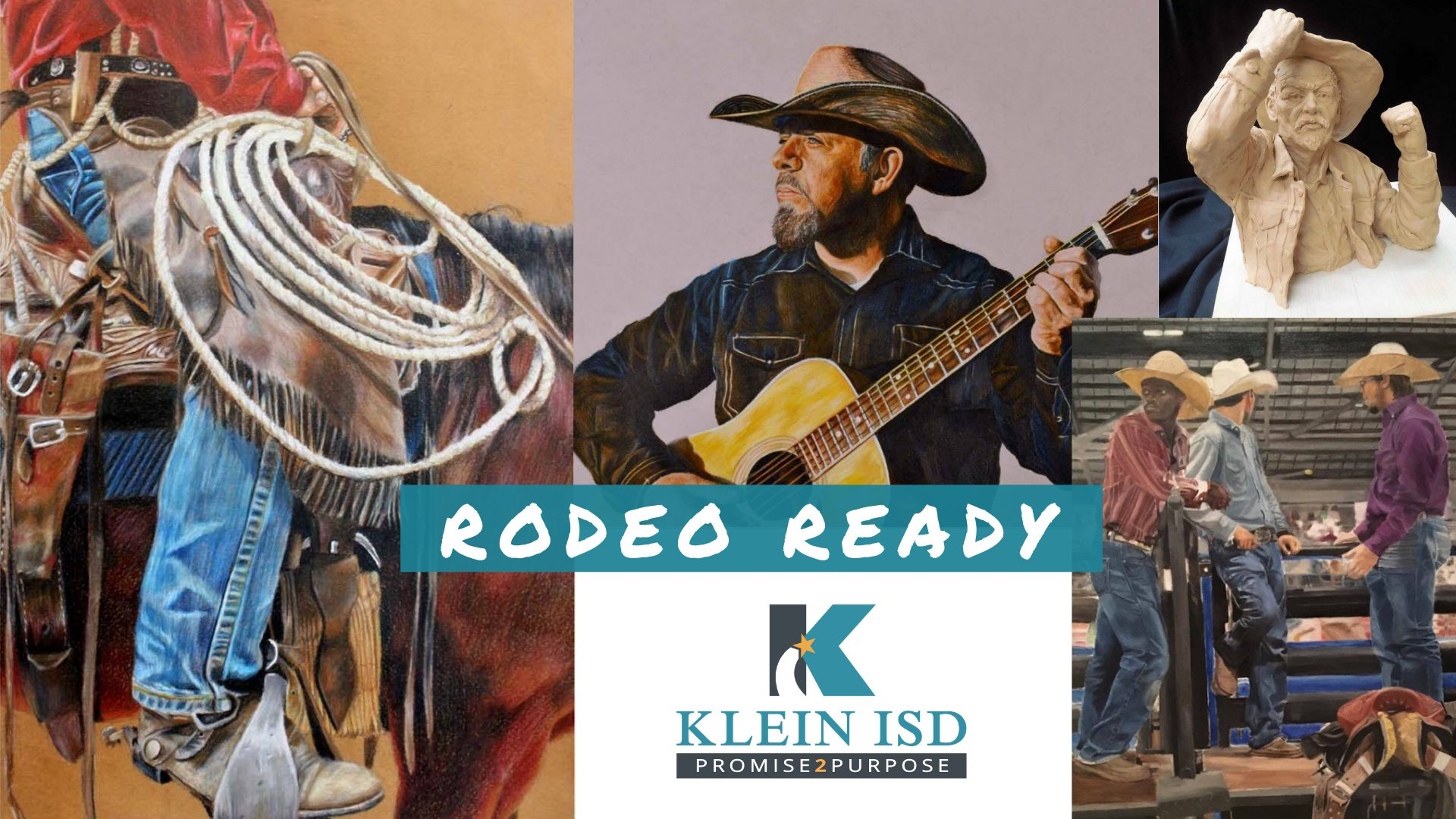 Four Students Chosen to Auction Art at Rodeo