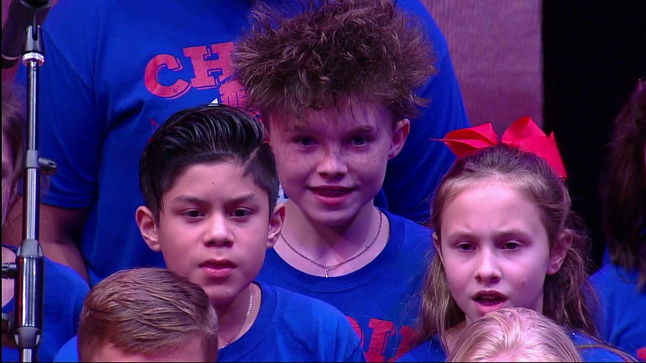 Kuehnle Choir Performs at Houston Rockets Game
