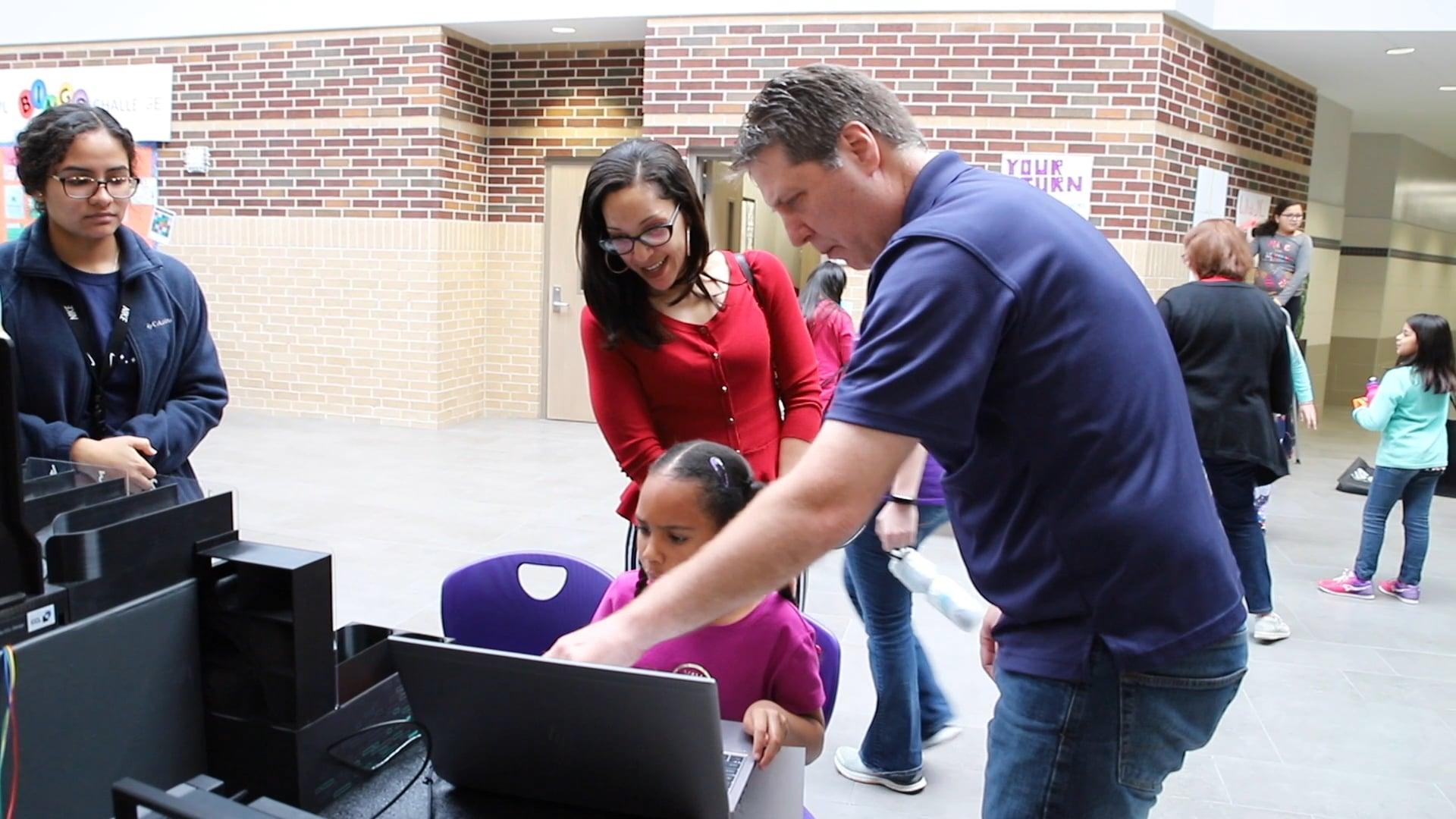 Klein ISD celebra el tercer evento anual de Girls in STEM