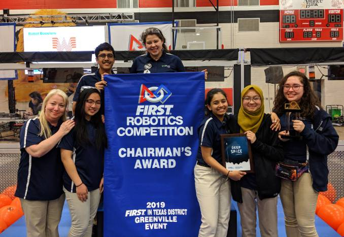 first robotics chairmans essay