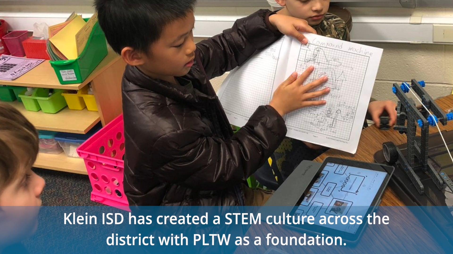 Klein ISD Chosen to Showcase STEM Curriculum and Culture
