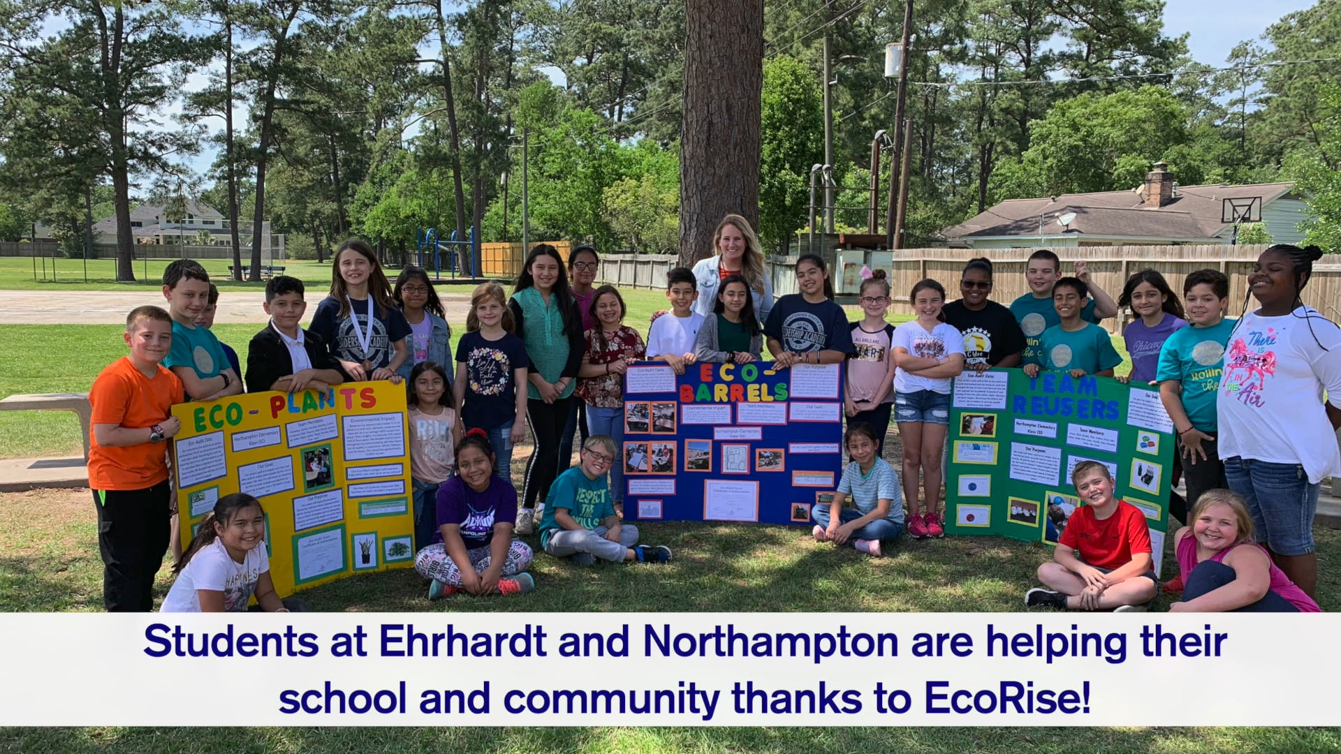 EcoRise Grants Awarded to 2 Schools