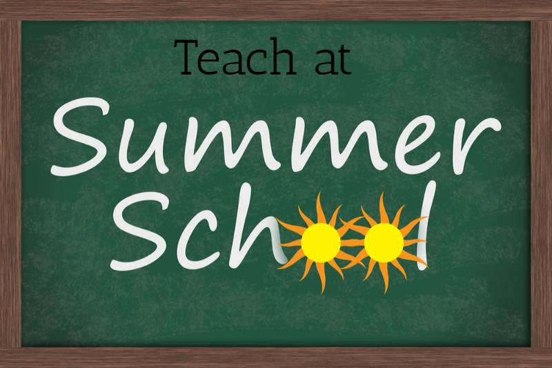 Calling Teachers Interested in Teaching High School Initial Credit Summer School 2019