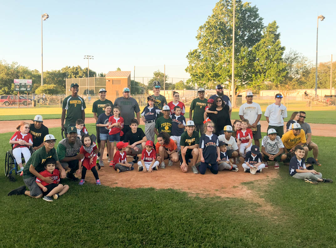 Baseball Volunteers Knock it Out of the Park