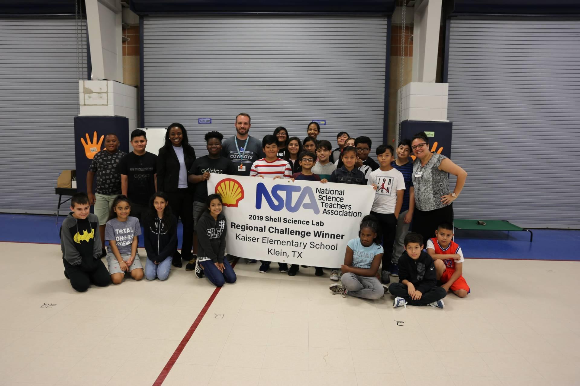 Elementary Science Teacher Wins Shell Science Lab Regional Challenge