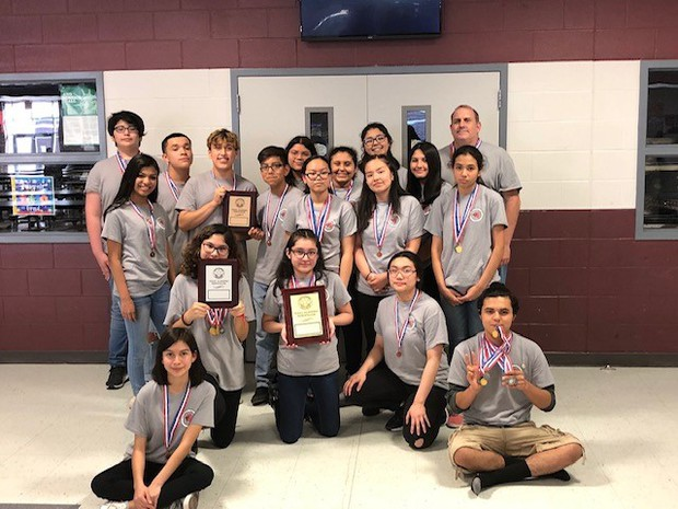 Regional Academic Competition Winners