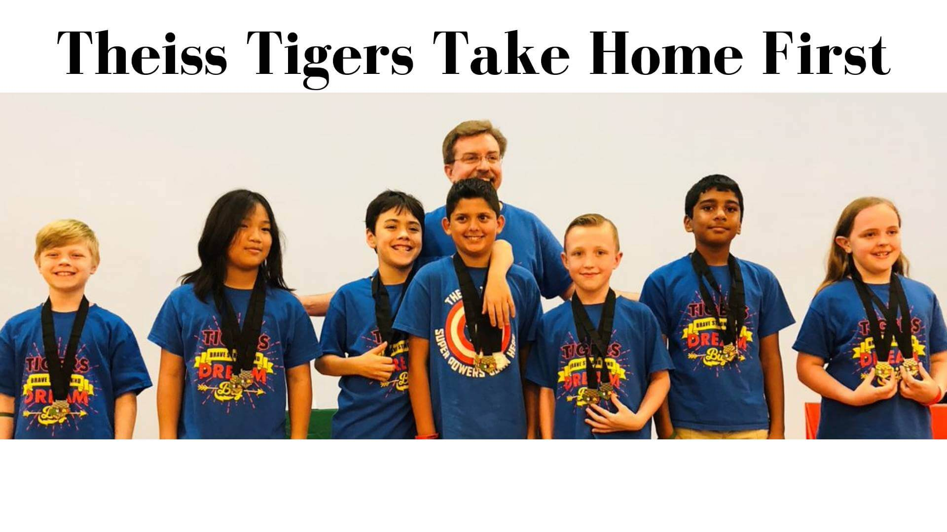 Elementary Rubik's Cube Team Crowned Fastest in the State