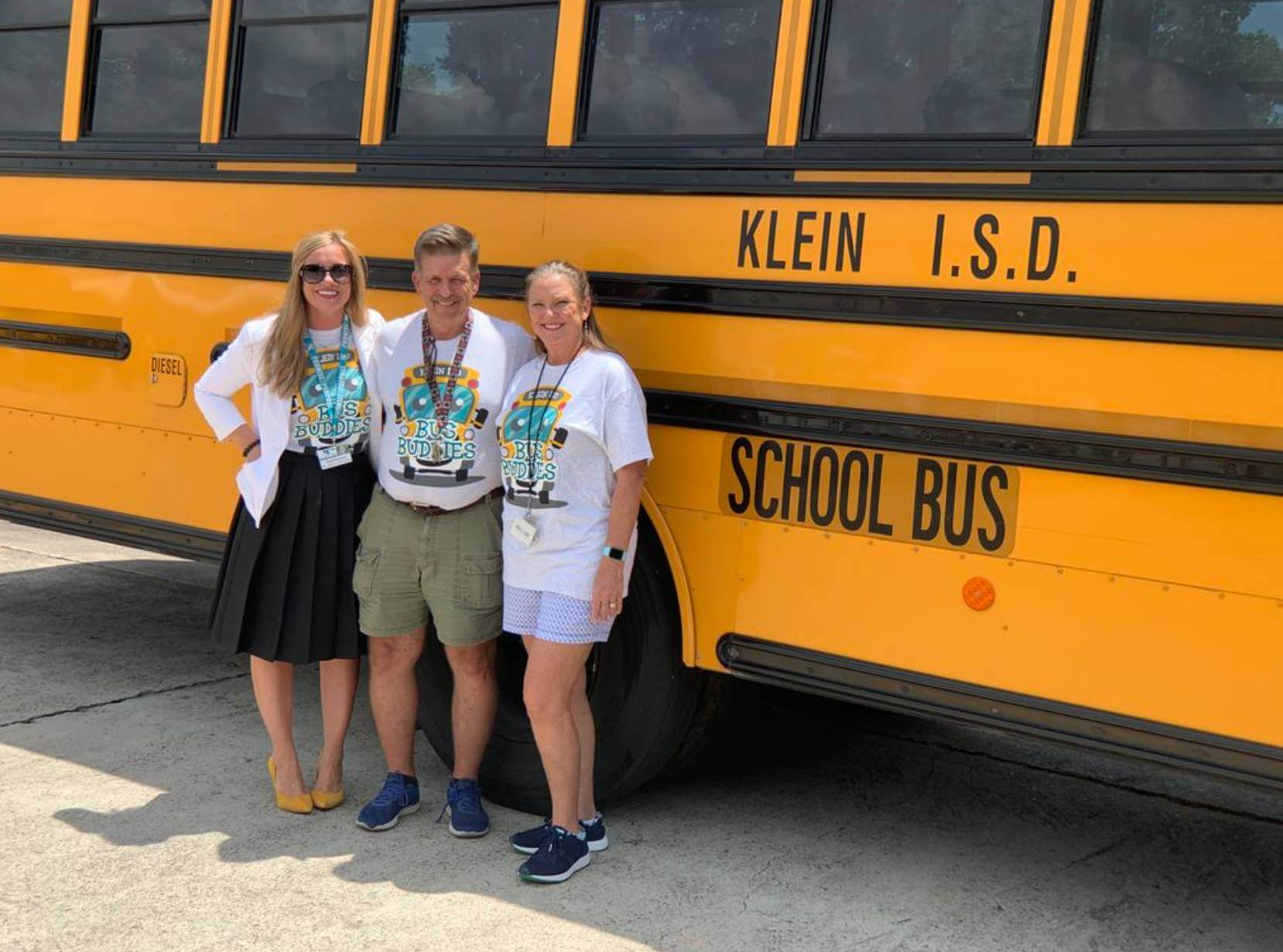 Klein ISD Sees Success in First Year of Bus Buddy Program