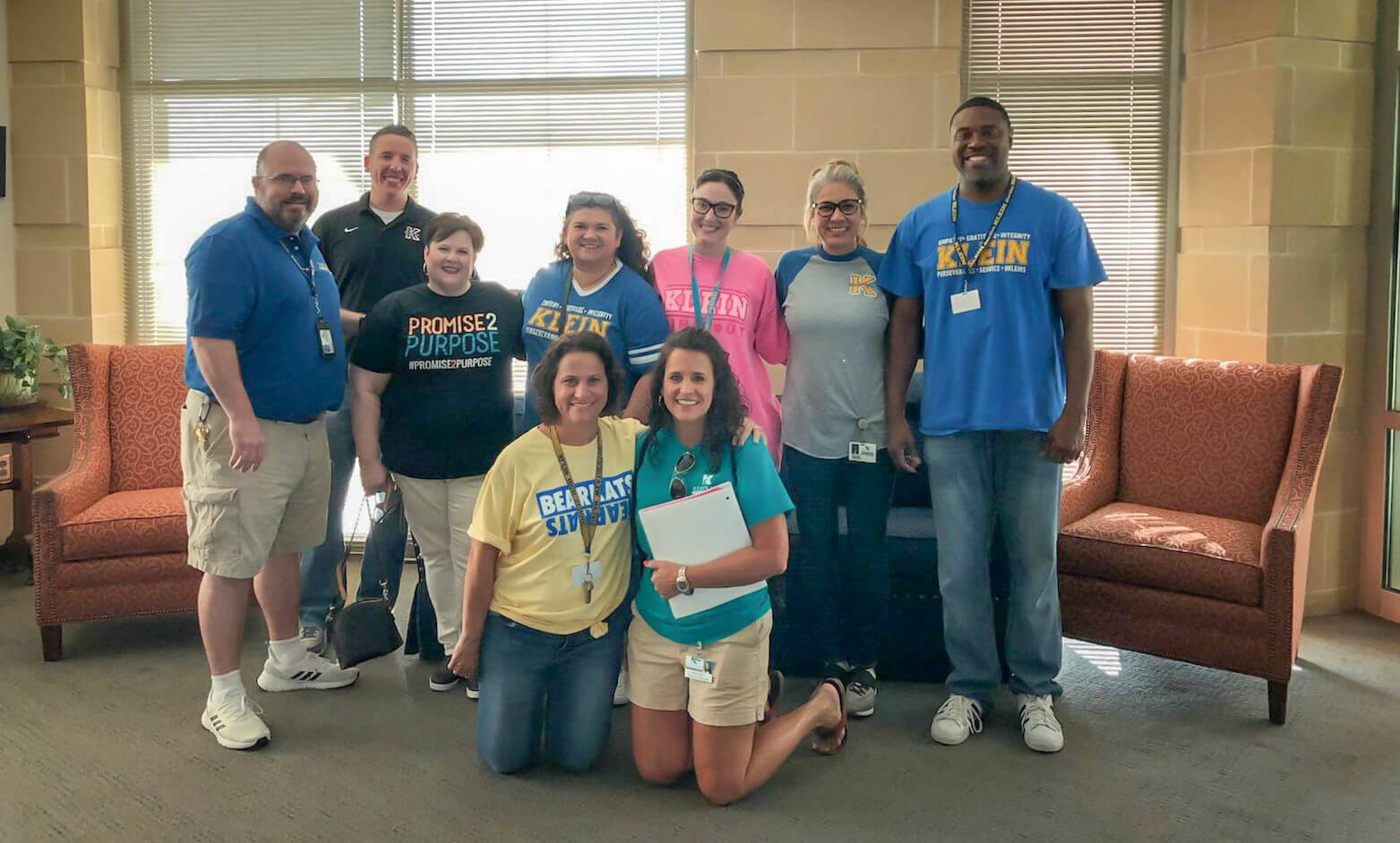 Klein ISD Participates in Project Reach Out Walk