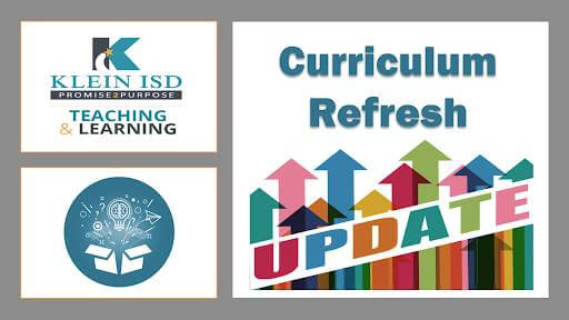 Curriculum Refresh Update