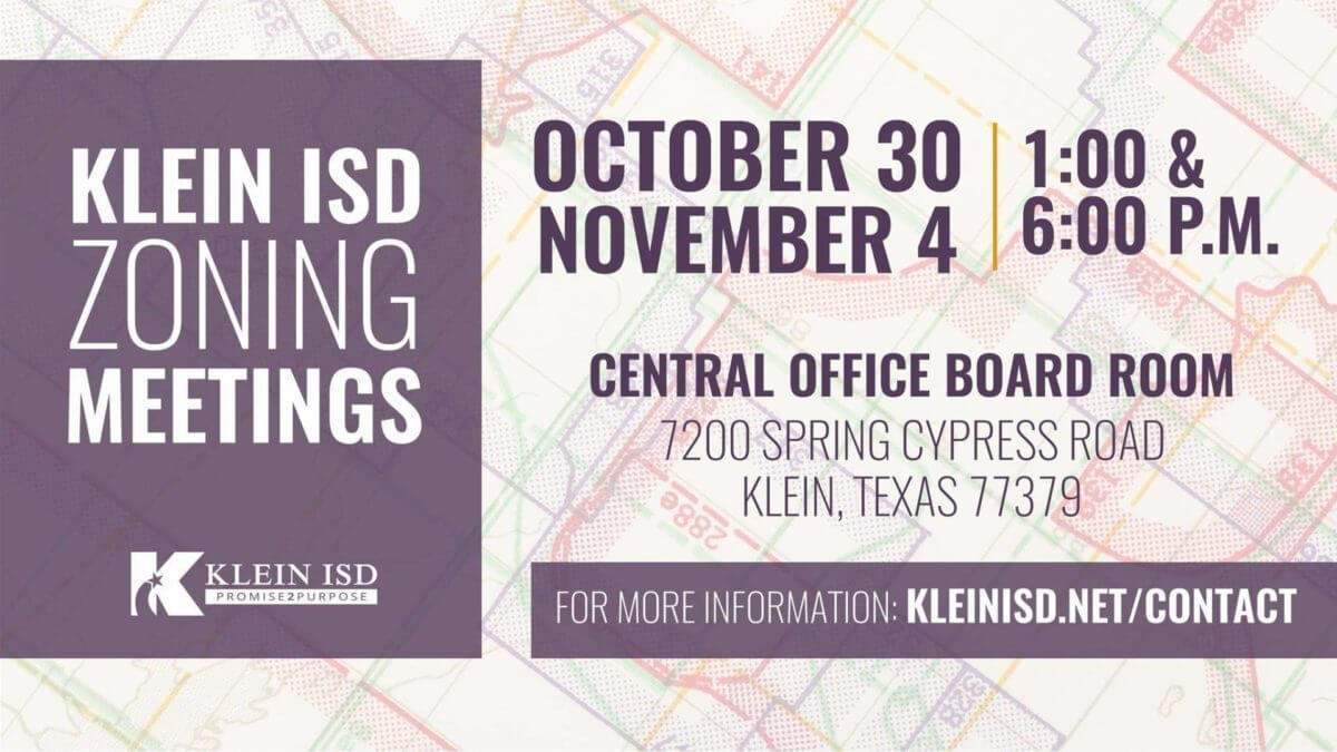 Klein ISD prepares for zoning changes due to student growth