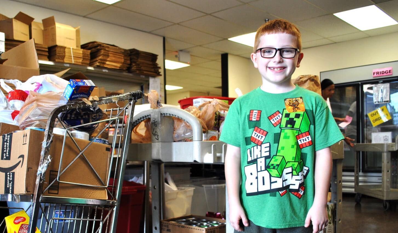 Benfer Bobcat Organizes Birthday Donation Drive