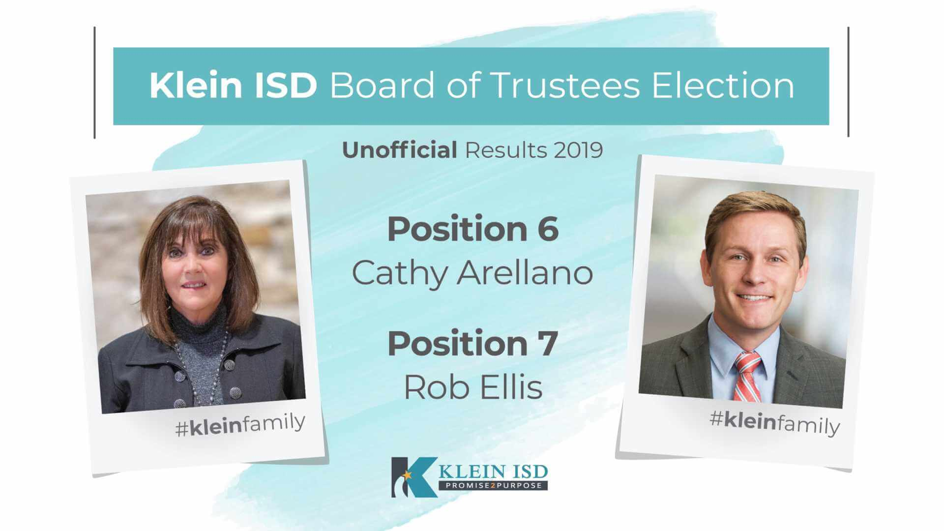 Unofficial Results from Klein ISD Board of Trustees Election Released