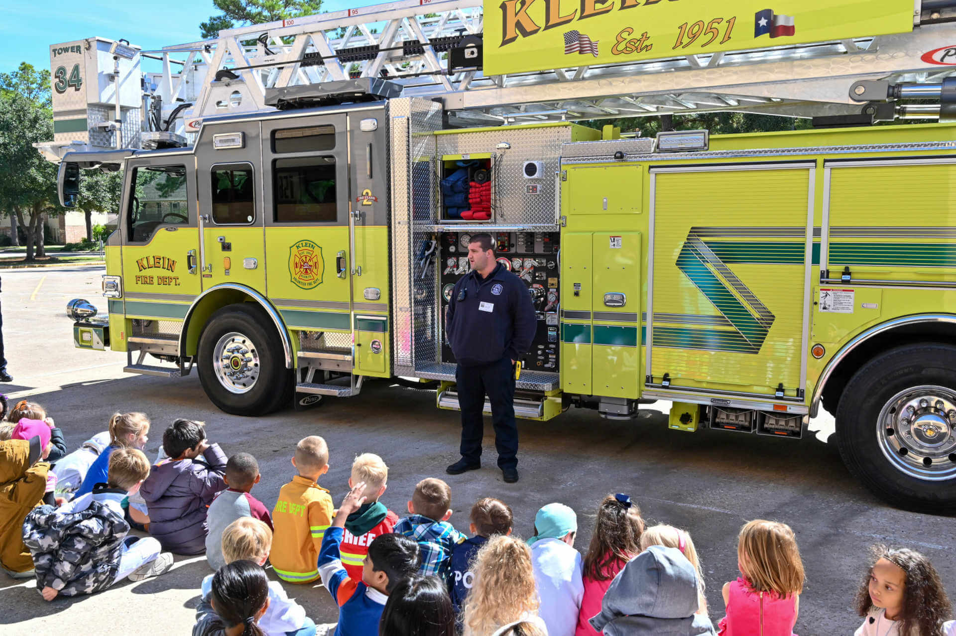 Brill Broncos Explore Potential Professions During Career Day