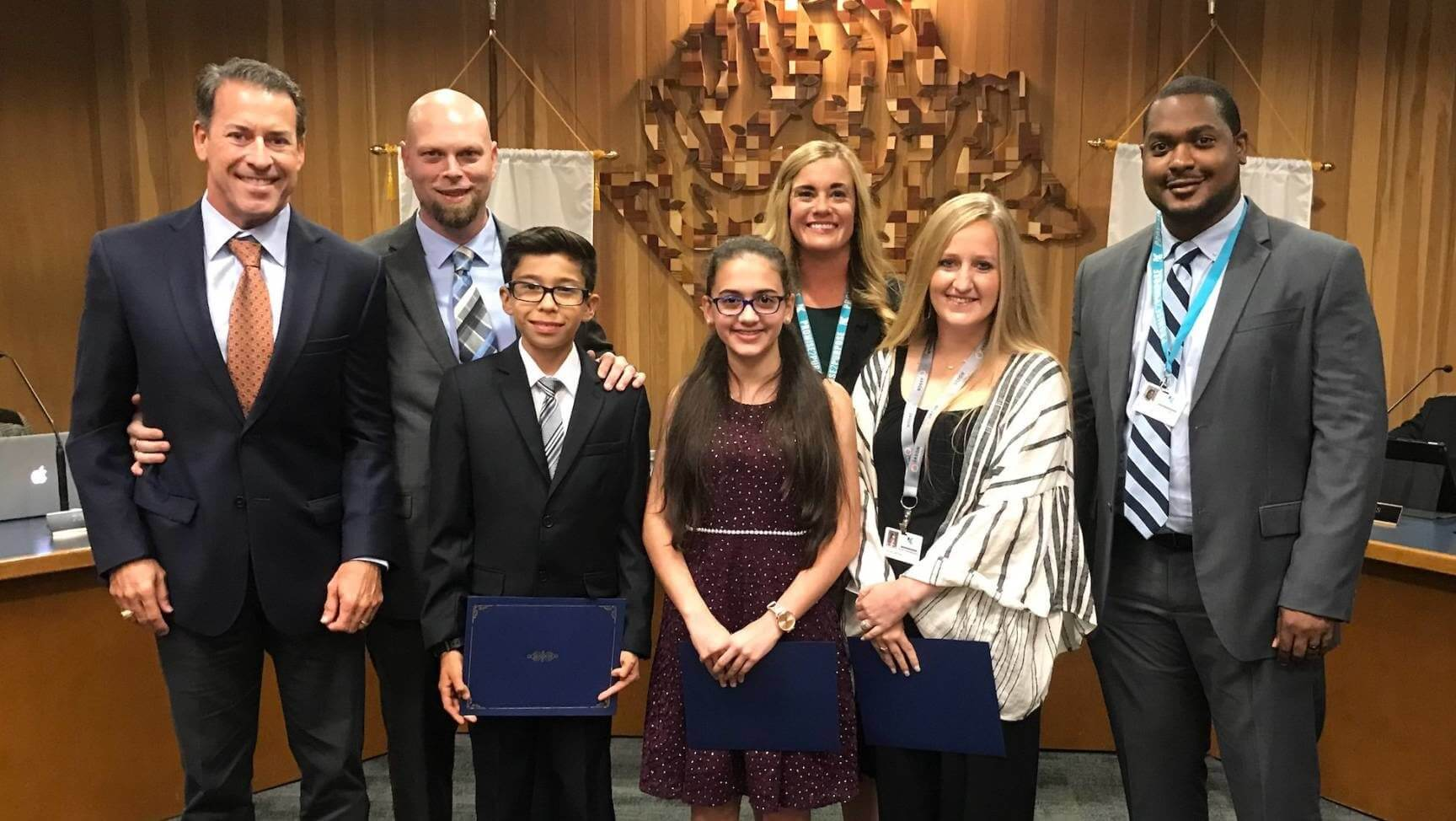 Outstanding Kleb Students and Educators Recognized at Board Meeting