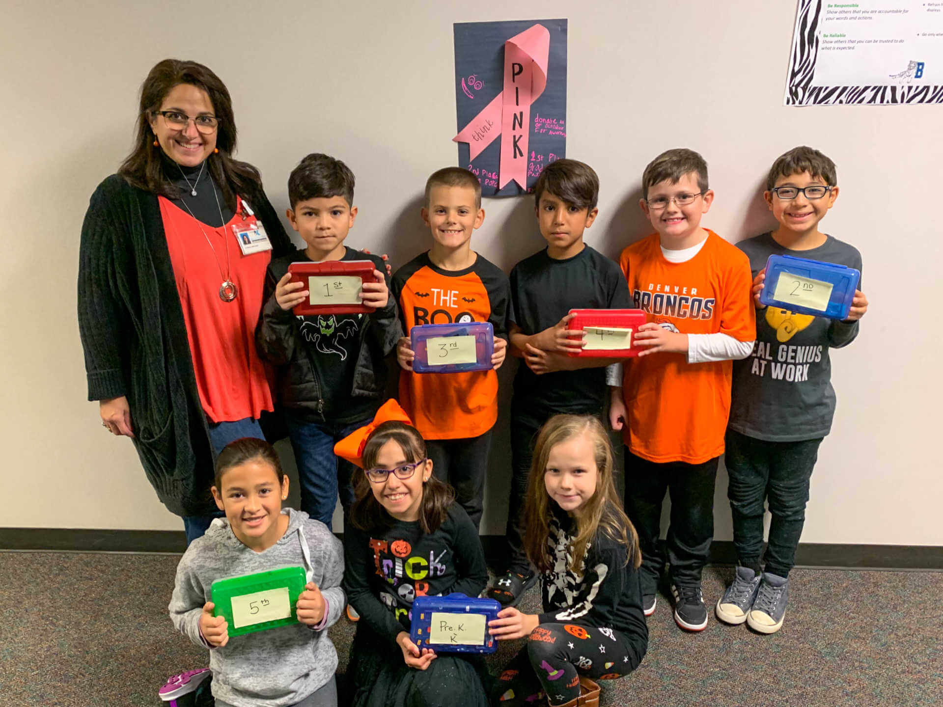 Bernshausen Students Raise $1,000 for Cancer Research