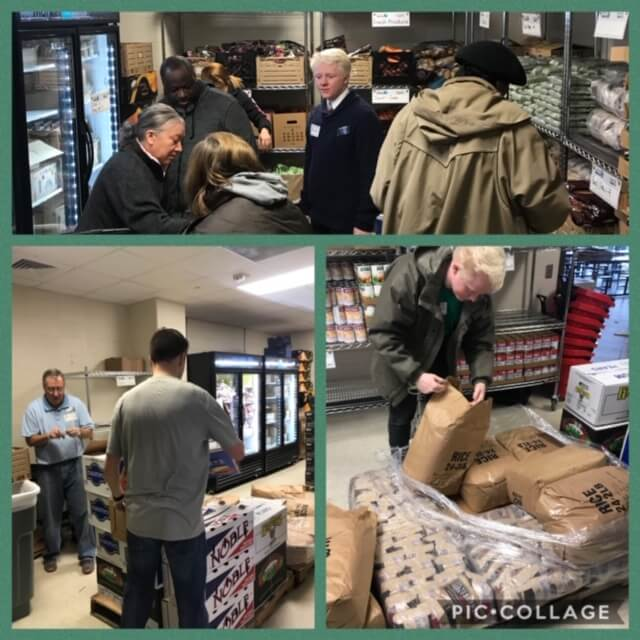 Community Connections: JustServe & KFHS Food Pantry