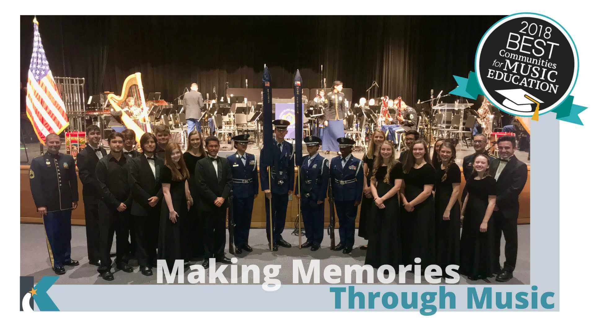 US Army Field Band and Soldiers' Chorus Perform Alongside Students