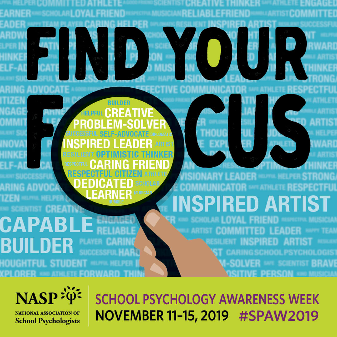 "KISD LSSPs Encourage All to ""Find Your Focus"" for School Psychology Appreciation Week"