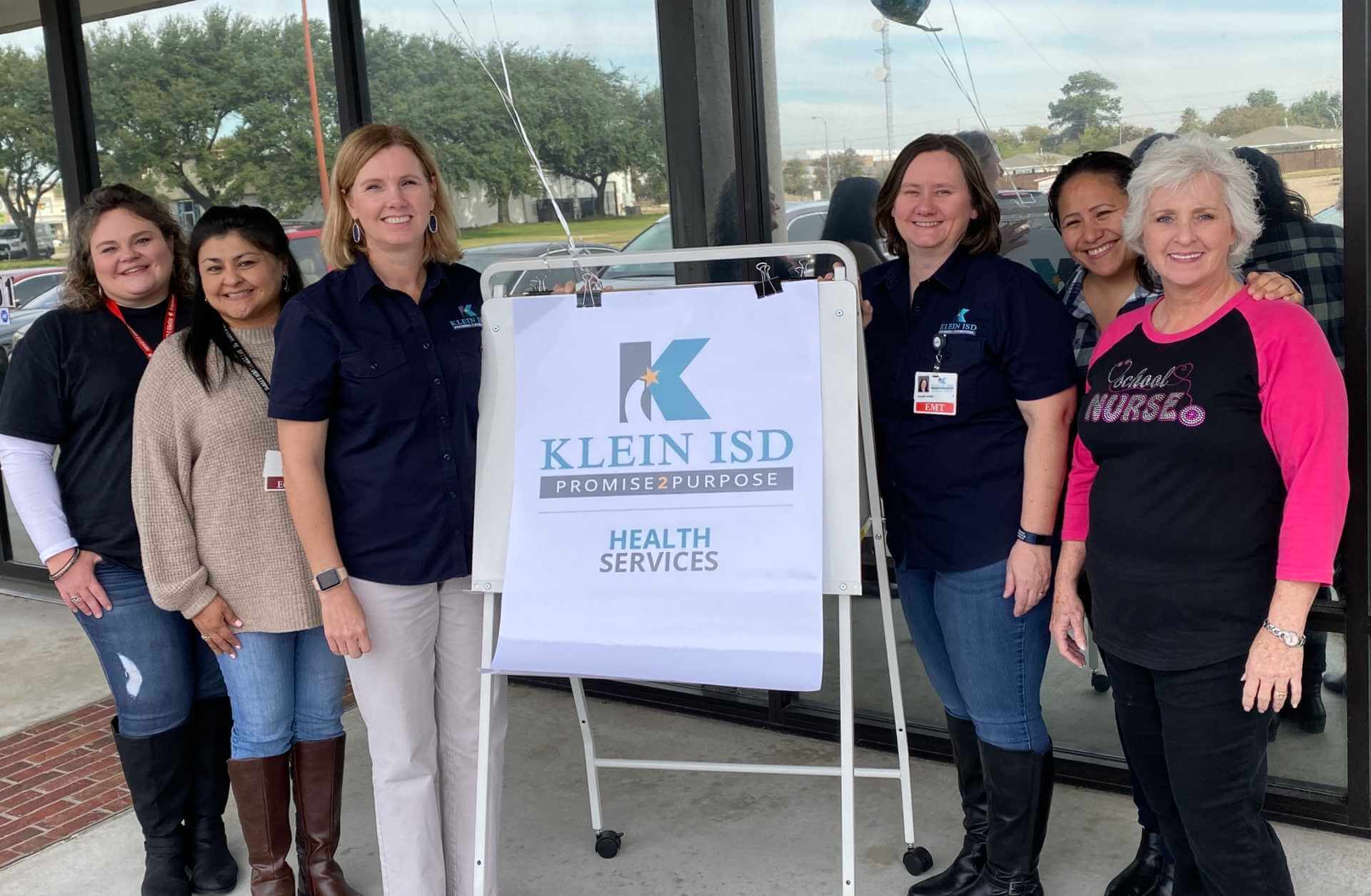 Klein ISD and Community Partner for Vision Screening