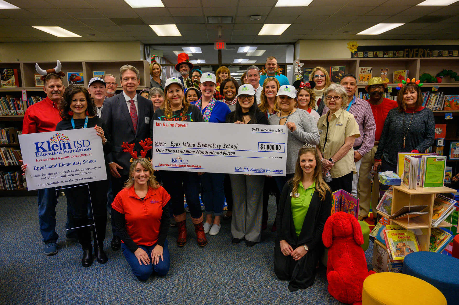 Epps Island Elementary Receives $1,900 Grant for Garden Club