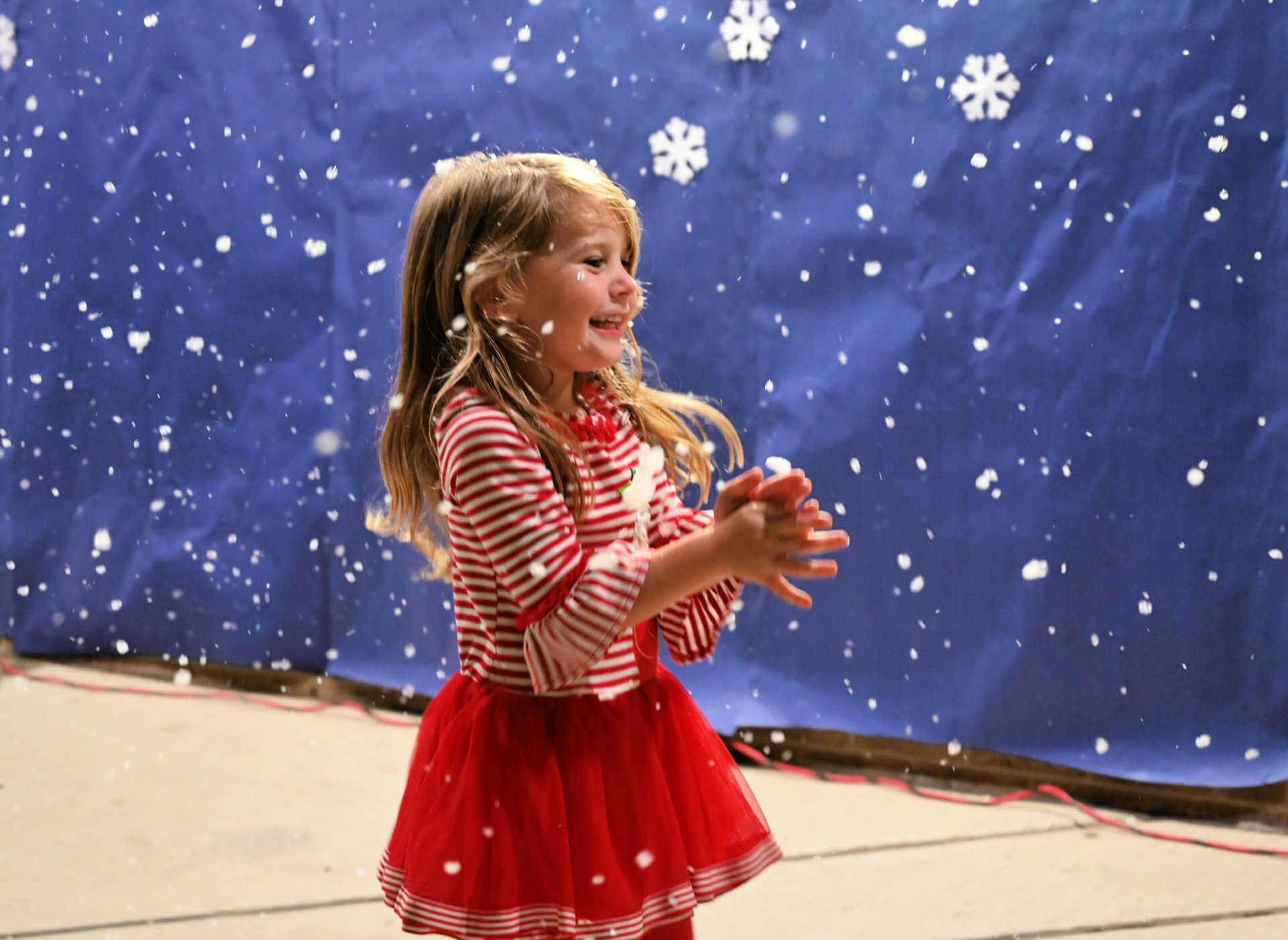 Benfer Elementary Hosts Inaugural Supper with Santa