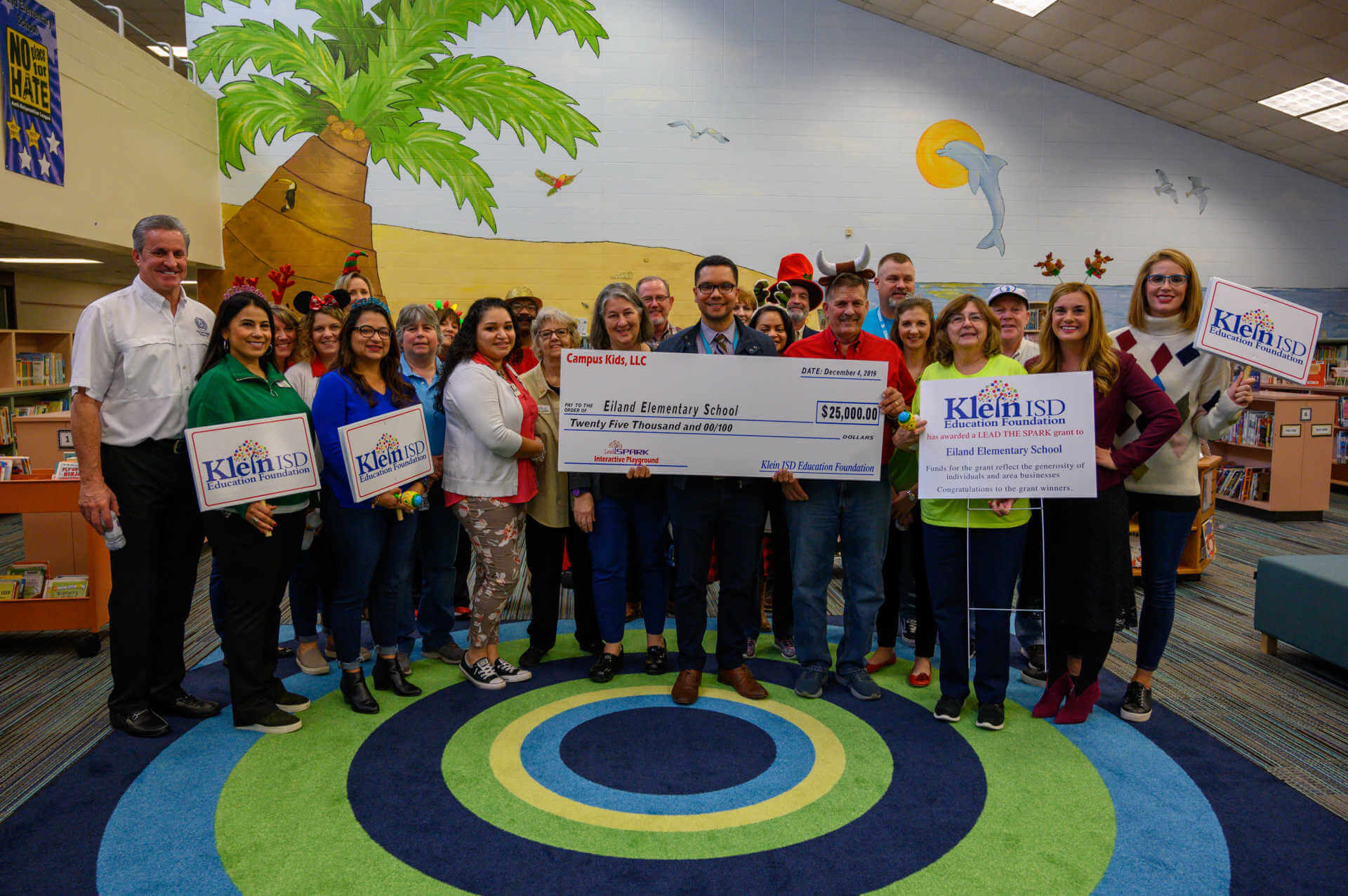 Eiland Elementary Receives $25,000 Grant for Interactive Playground