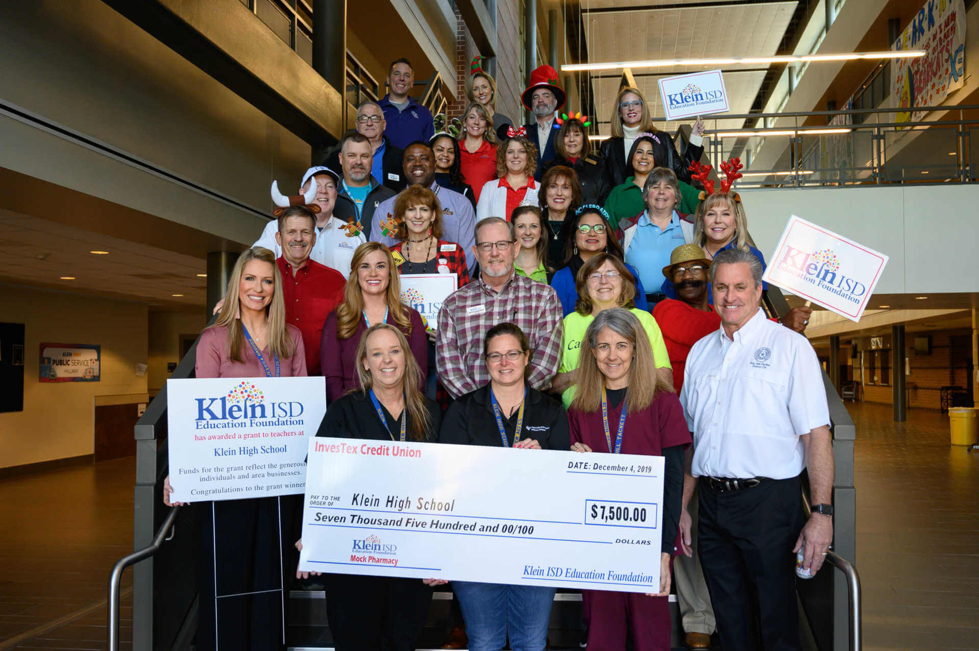 Klein High School Receives $7,500 Grant for Mock Pharmacy