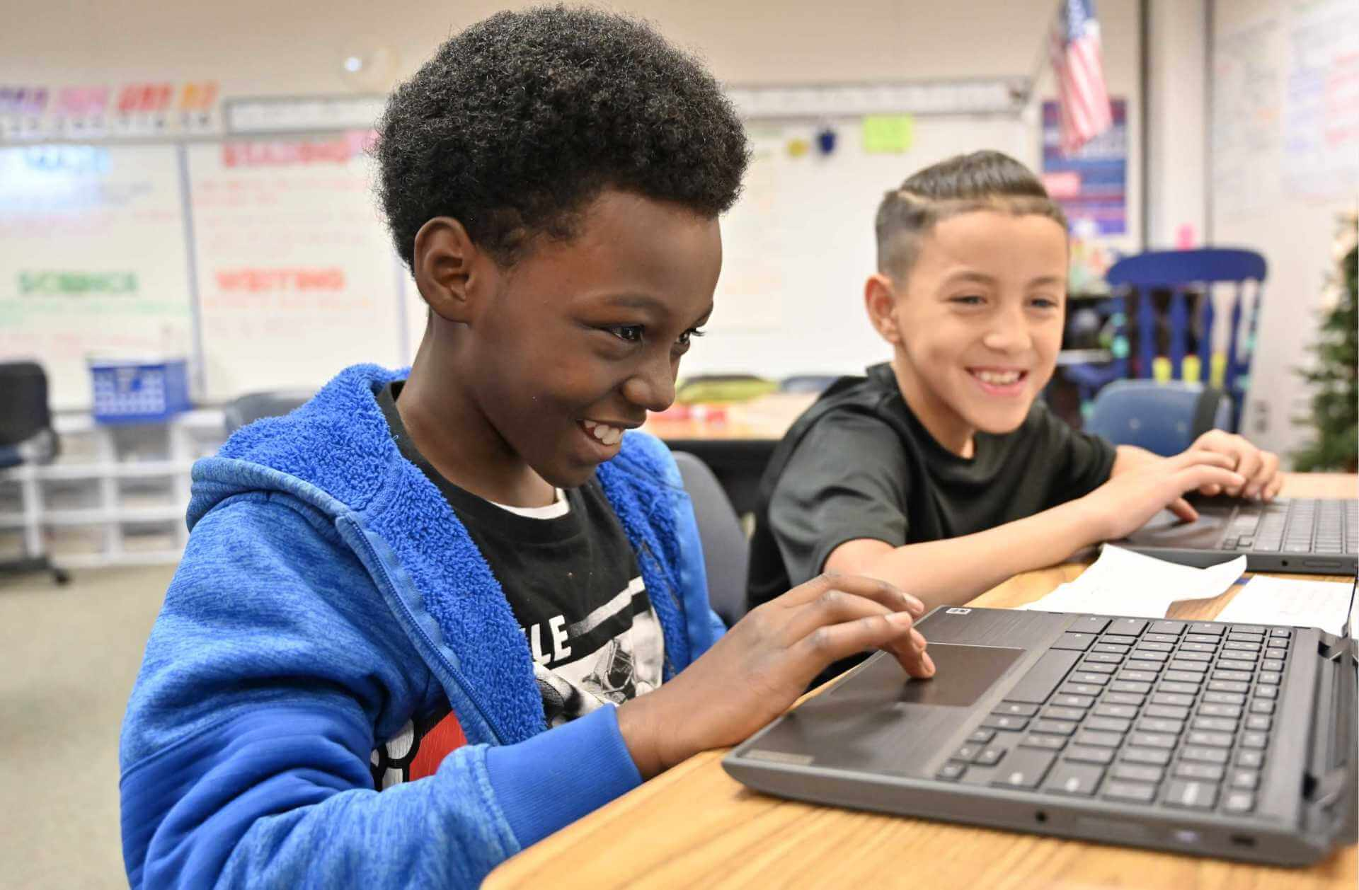 McDougle Students and Teachers Master Personalized Learning