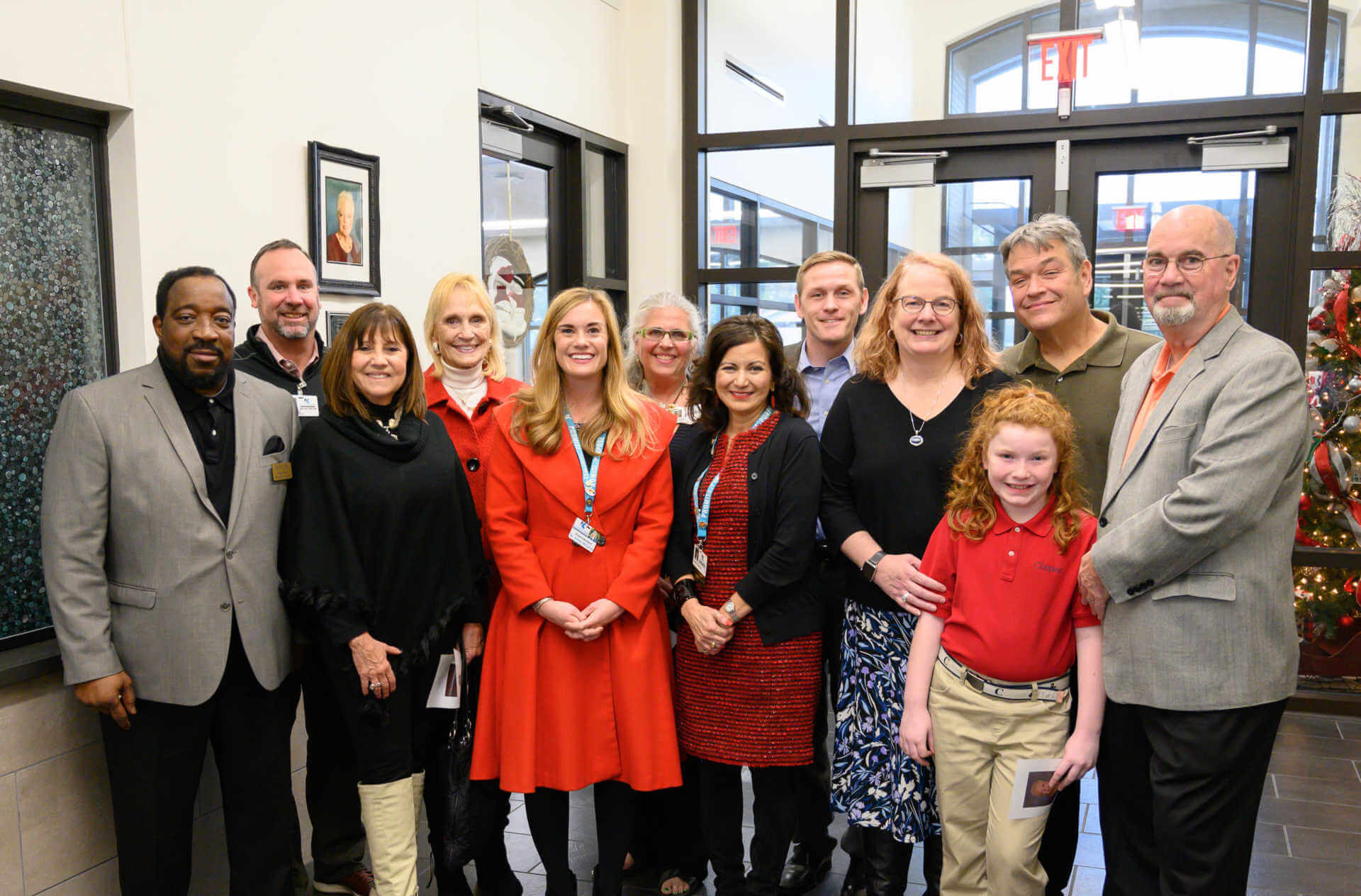 Longtime Epps Island Employee Honored with Administrative Wing Dedication