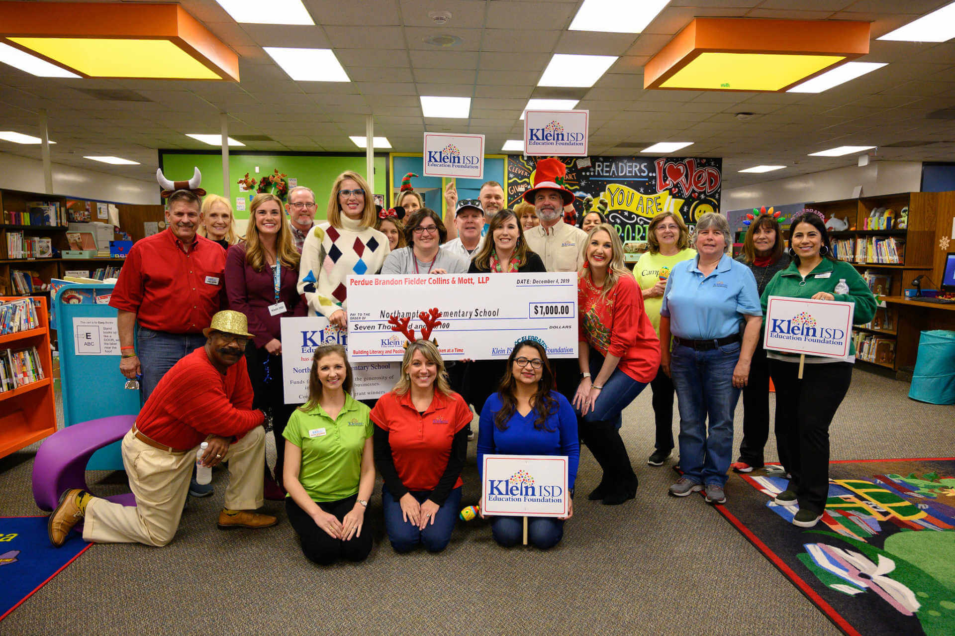 Northampton Elementary Receives $7,000 Grant for Book Vending Machine