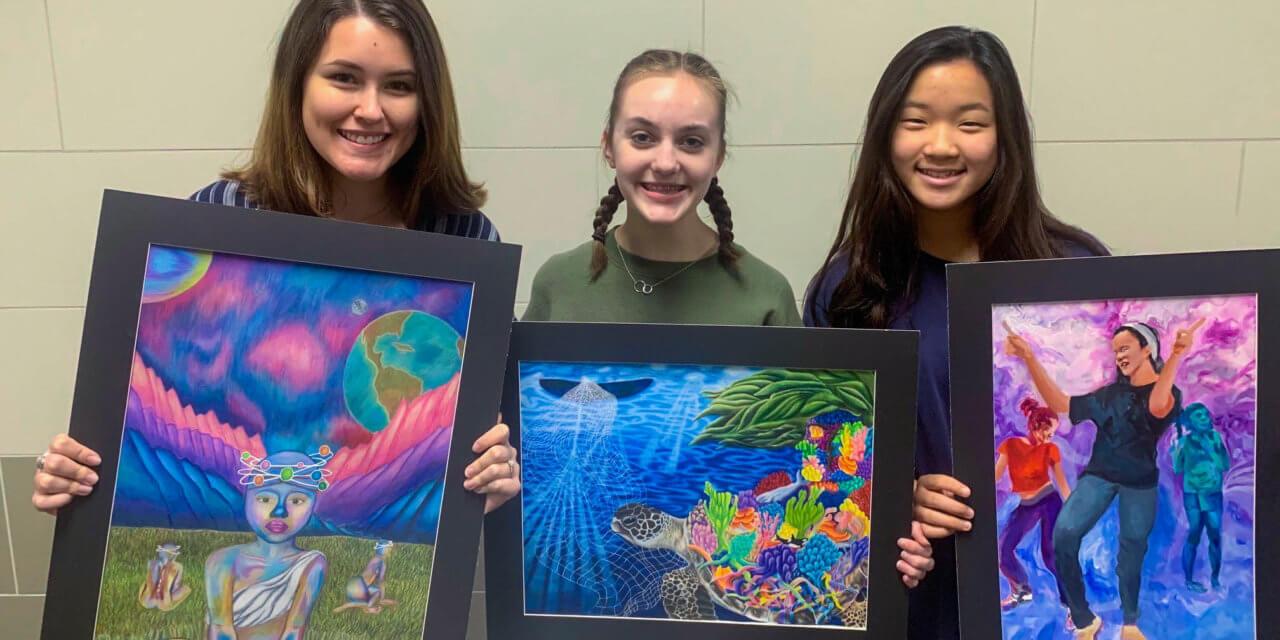 3 Klein Cain Students Receive Scholastic Art Awards