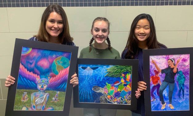 3 Klein Cain Students Receive Scholastic Art Awards