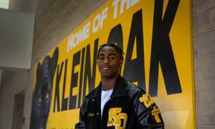 Klein Oak Football Star Named 'Showstopper of the Year'