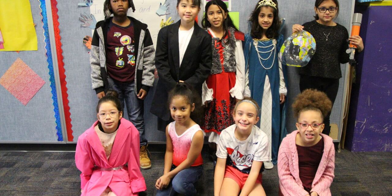 Kreinhop Third Graders Travel Through Time For Biography Day