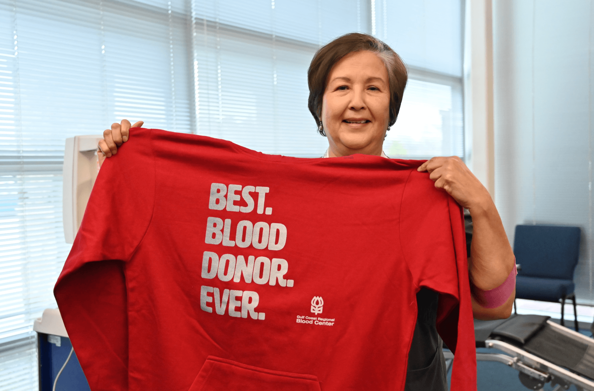 Grace England Hosts Community Blood Drive