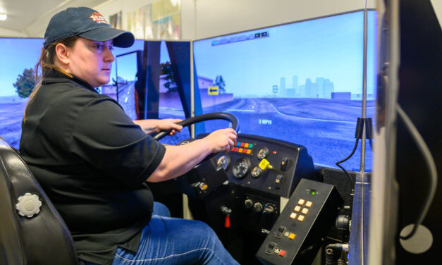 High-Tech Bus Safety Simulator Comes to Klein ISD