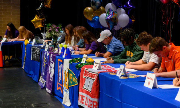 94 Klein ISD Student-Athletes Participate in 2020 National Signing Day